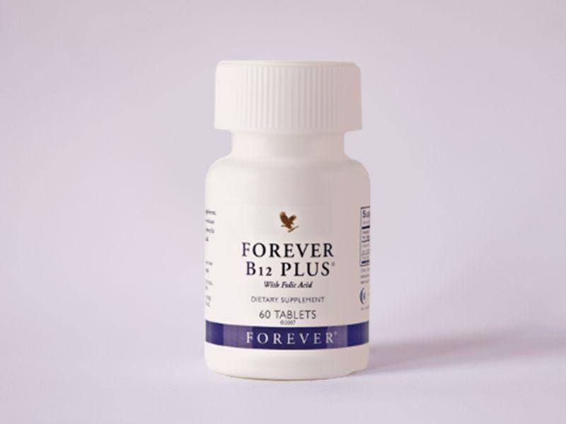 Forever B12 Plus - Vitamin B12 i folna kiselina