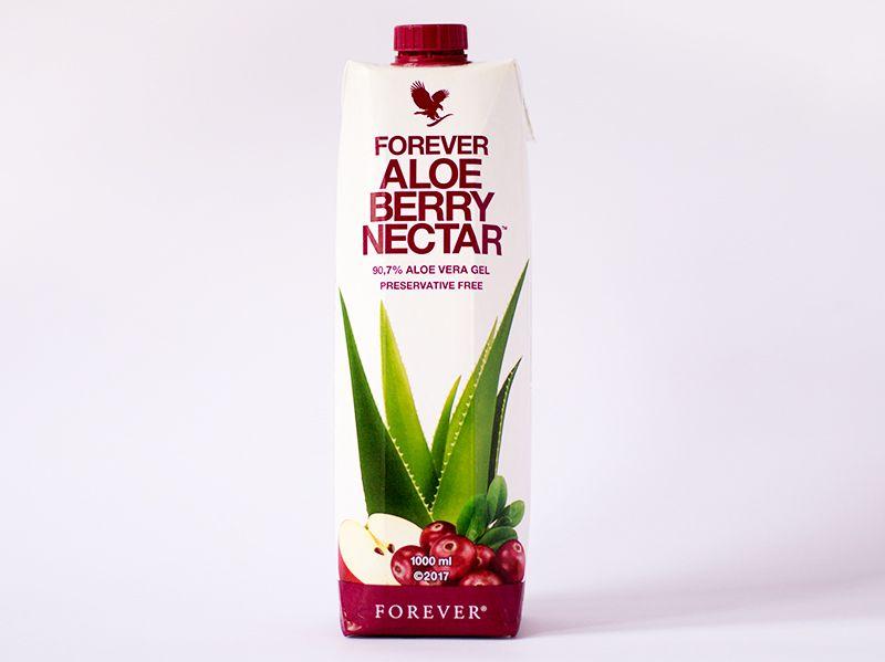 Aloja Berry Nectar - 90,3% Aloe Vera Gela sa koncentrovanim sokom divlje jabuke i brusnice