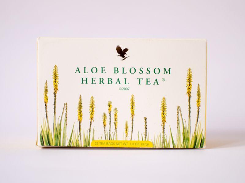 Aloe Blossom Herbal Tea - sadrzi cimet, djumbir, karanfilic, anis, kamilicu, pupoljak aloje, seno, kupinov list.